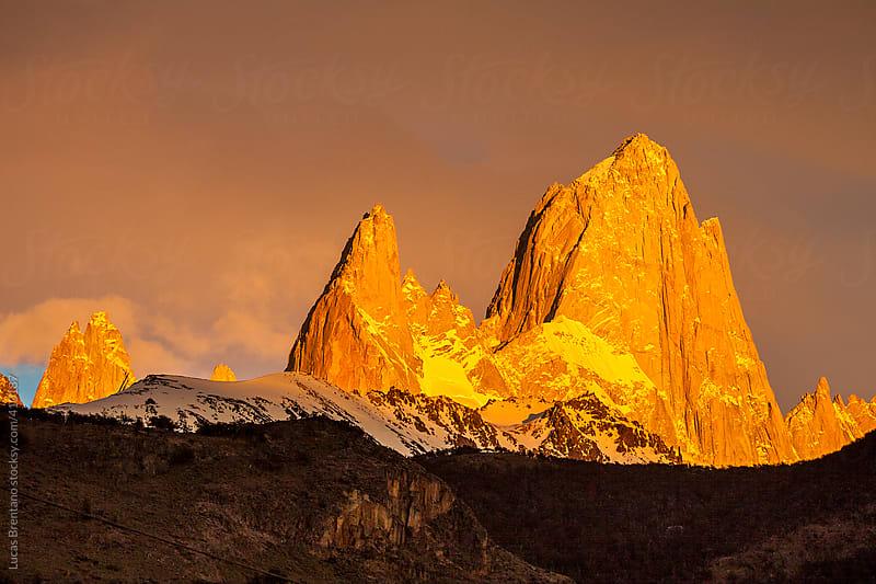 Mount Fitzroy - Cerro Fitz Roy - Chaltén by Lucas Brentano for Stocksy United