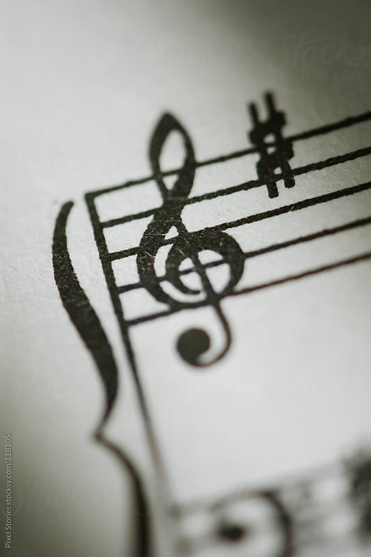 Music notes by Pixel Stories for Stocksy United