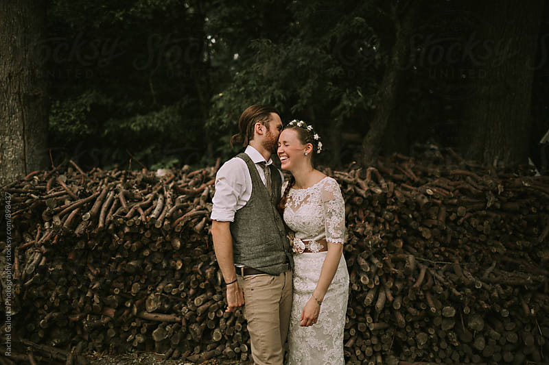Bride and Groom by Rachel Gulotta Photography for Stocksy United