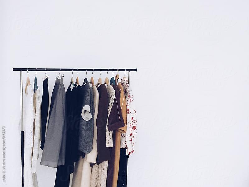 Clothes on a rail by Lyuba Burakova for Stocksy United