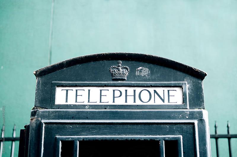 Phone box by Sam Burton for Stocksy United