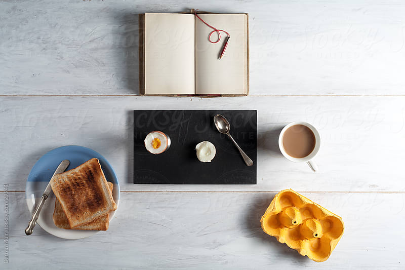 Breakfast table by Darren Muir for Stocksy United