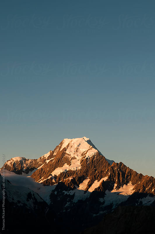 Aoraki / Mt Cook, New Zealand. by Thomas Pickard for Stocksy United