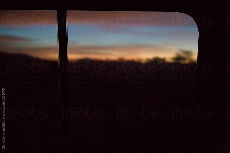 Morning Sky from Window by Diane Durongpisitkul for Stocksy United