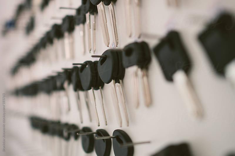Blank keys  by Branislav Jovanovic for Stocksy United