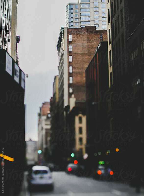 A street in New York City by Chelsea Victoria for Stocksy United