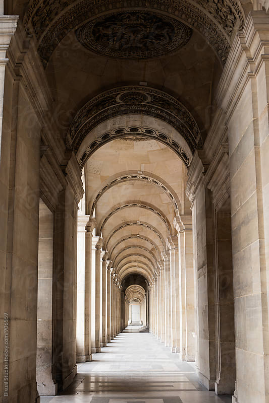 Corridor in Paris by Bisual Studio for Stocksy United
