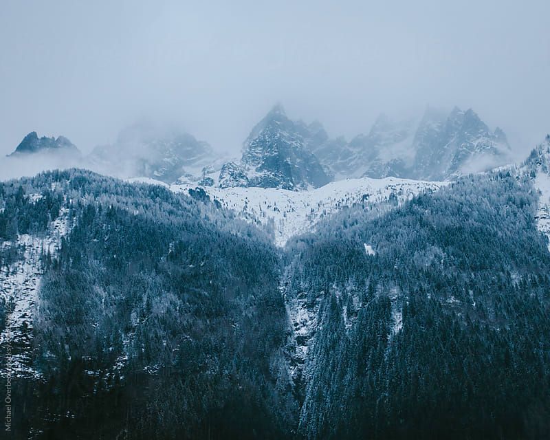 Chamonix by Michael Overbeck for Stocksy United