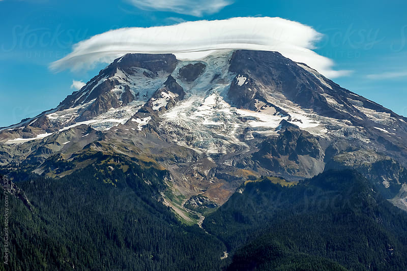 Mt. Rainier by Aubrie LeGault for Stocksy United