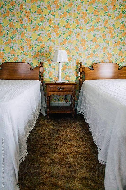 Motel Room Niagara Falls  by Raymond Forbes LLC for Stocksy United