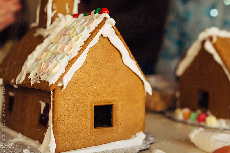 Gingerbread houses by Gabriel (Gabi) Bucataru for Stocksy United
