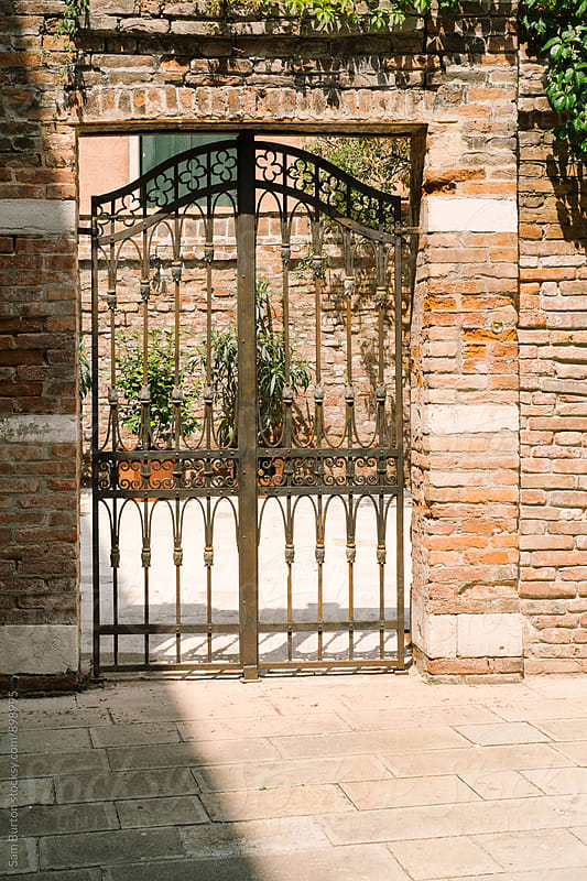 Gate in Venice by Sam Burton for Stocksy United