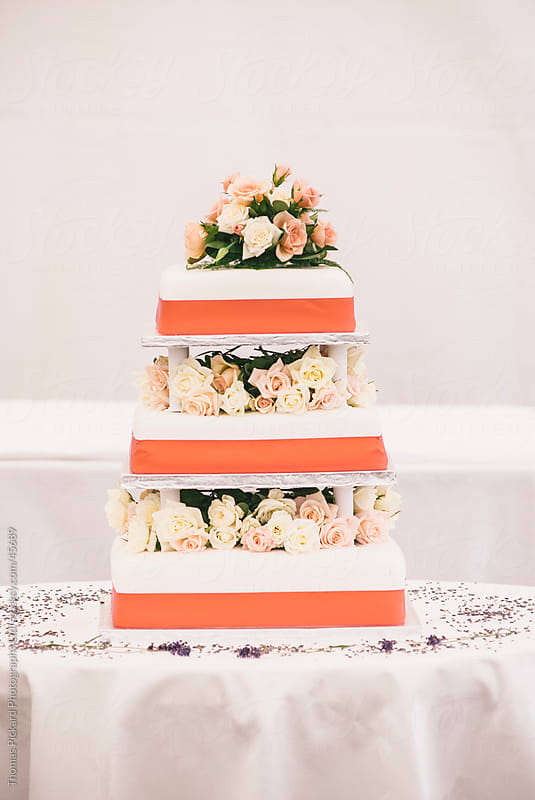 Wedding cake. by Thomas Pickard Photography Ltd. for Stocksy United