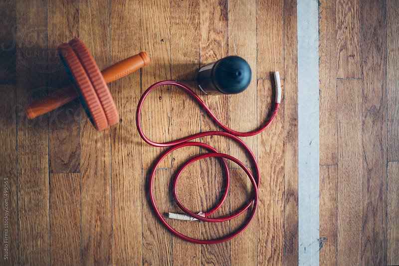 Gym workout equipment. by Studio Firma for Stocksy United
