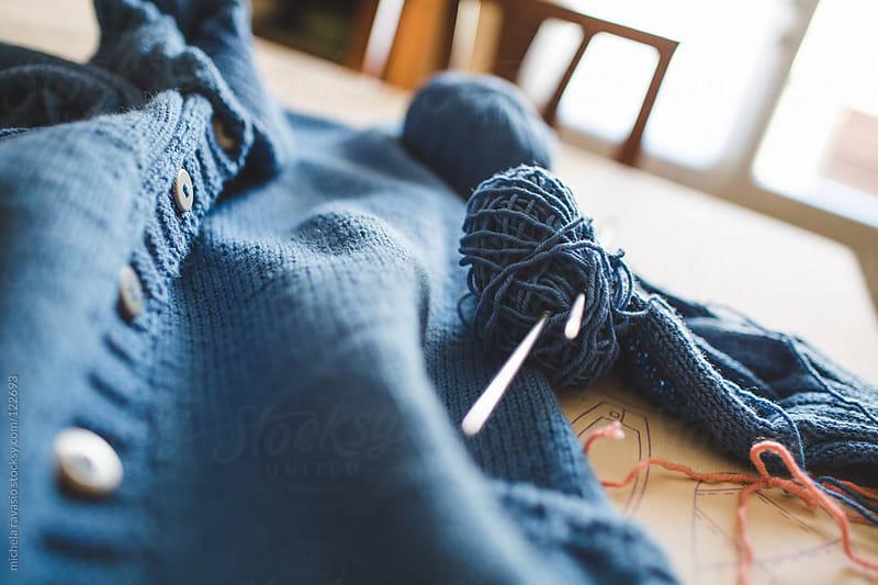 Knitting by michela ravasio for Stocksy United
