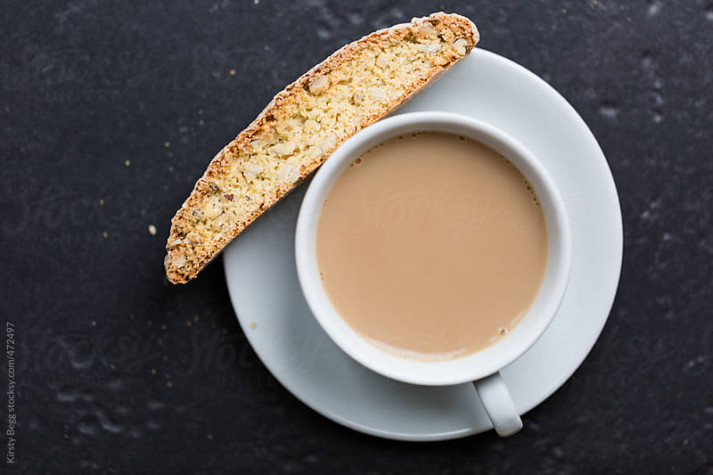 Italian Biscotti with tea by Kirsty Begg for Stocksy United