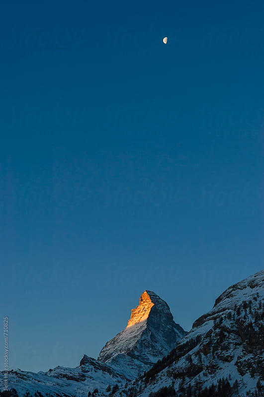 Matterhorn by Felix Hug for Stocksy United