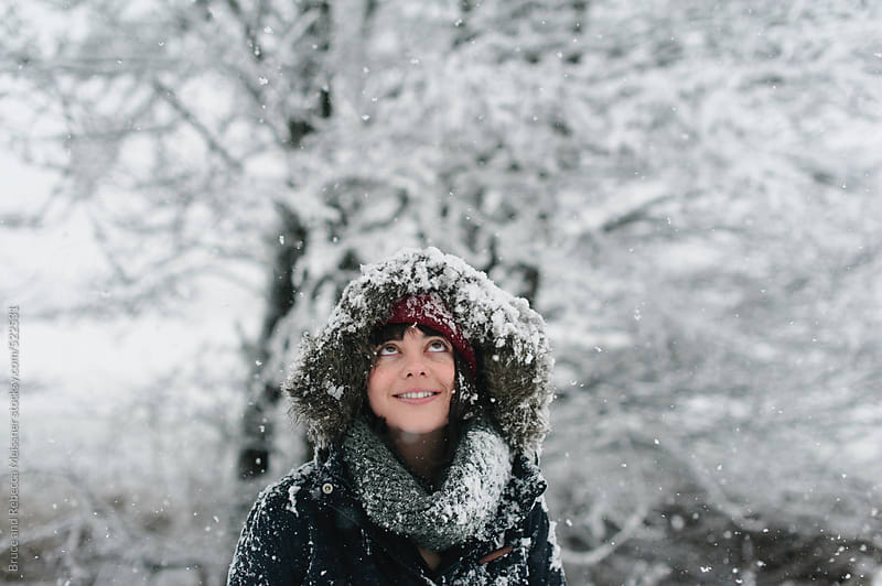 Experiencing Snow by Bruce and Rebecca Meissner for Stocksy United