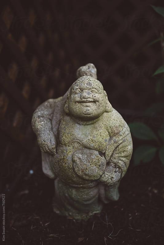 Buddha Garden Statue by Kim Swain for Stocksy United