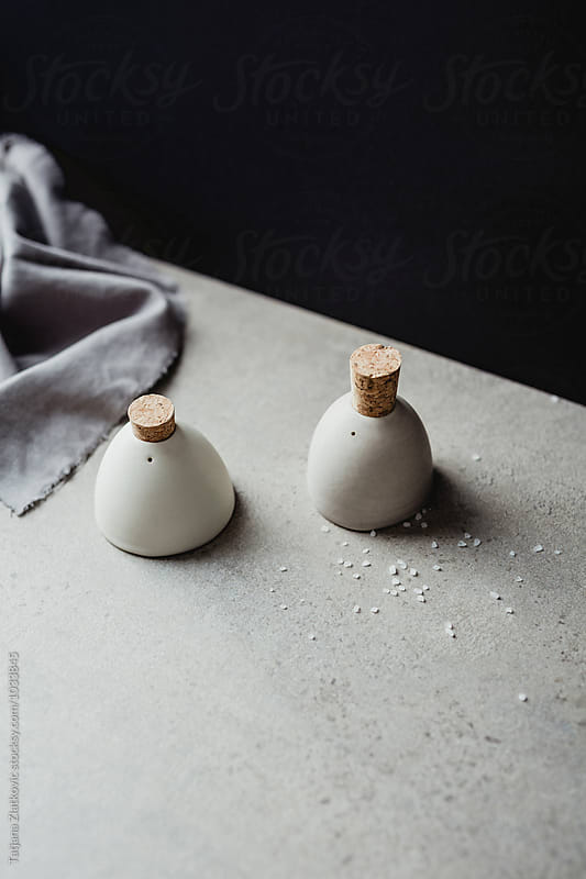 Salt and pepper shakers by Tatjana Zlatkovic for Stocksy United
