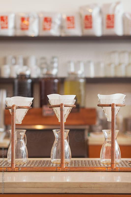 Filter Coffee Utensils by VISUALSPECTRUM for Stocksy United