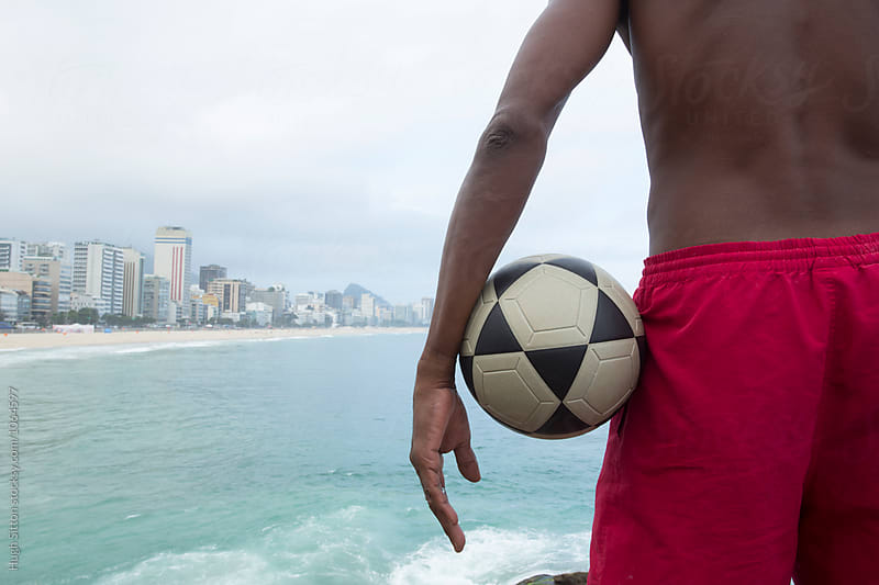 View of Ipanema Beach. Rio de Janeiro. Brazil. by Hugh Sitton for Stocksy United