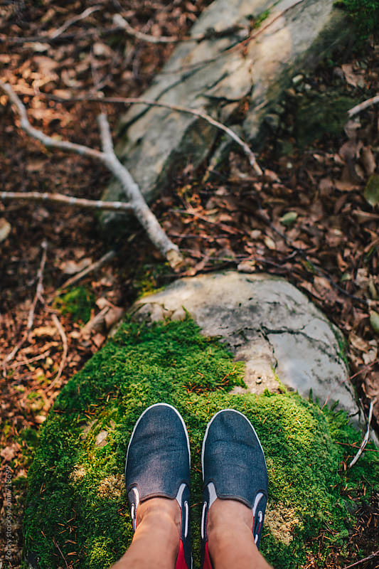 Shoes on the forest floor by Zocky for Stocksy United