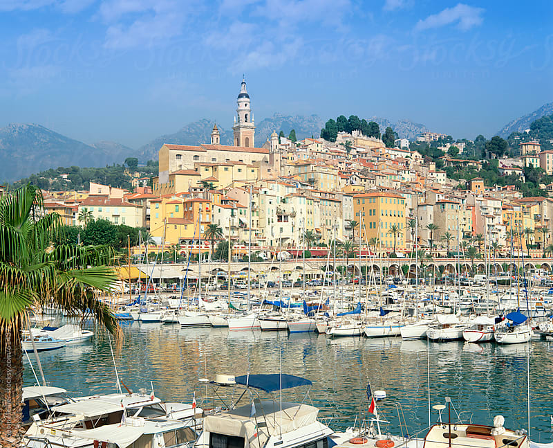 Menton, Cote d'Azur, Provence, French Riviera, France, by Gavin Hellier for Stocksy United