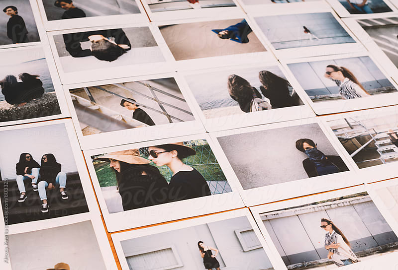 instant photos. by Vesna for Stocksy United