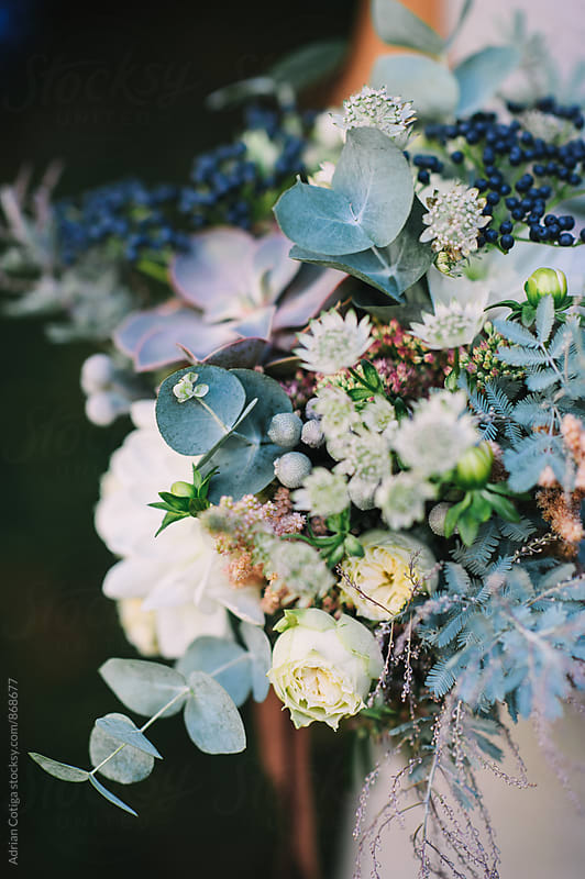 Bouquet with succulents by Adrian Cotiga for Stocksy United