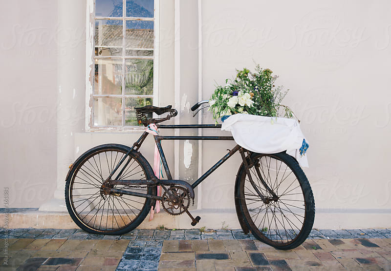 Vintage decorative bicycle by Aila Images for Stocksy United