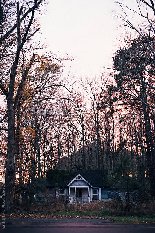 Abandoned Home by Isaiah & Taylor Photography for Stocksy United