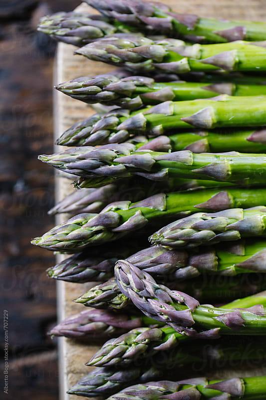 Fresh Asparagus by Alberto Bogo for Stocksy United