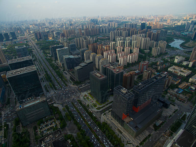 Chengdu city by Bo Bo for Stocksy United