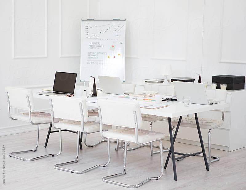 Empty Modern Office by Lumina for Stocksy United