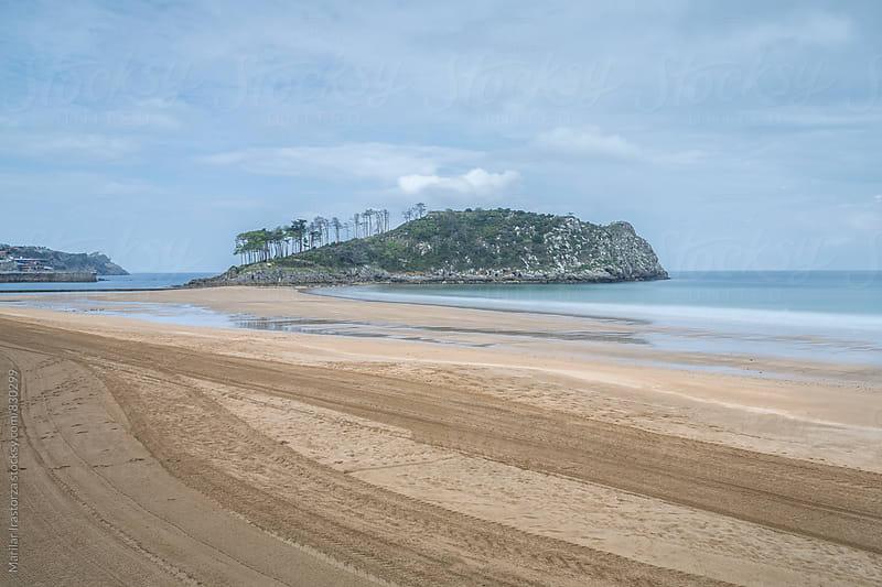 Empty beach in winter by Marilar Irastorza for Stocksy United