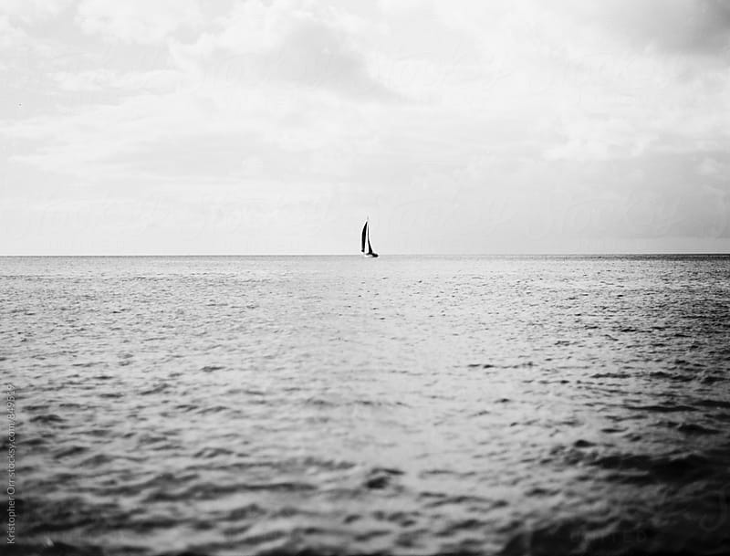 Sailboat by Kristopher Orr for Stocksy United