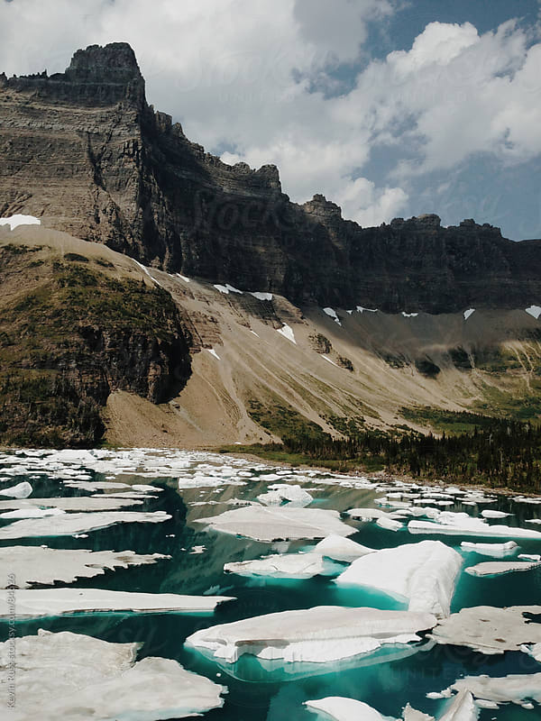 Iceberg Lake by Kevin Russ for Stocksy United