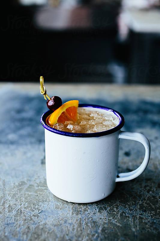 Cocktail in mug