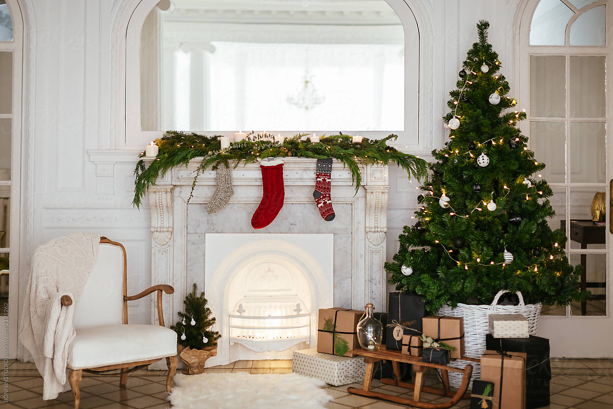 Christmas Decoration At Home. | Stocksy United