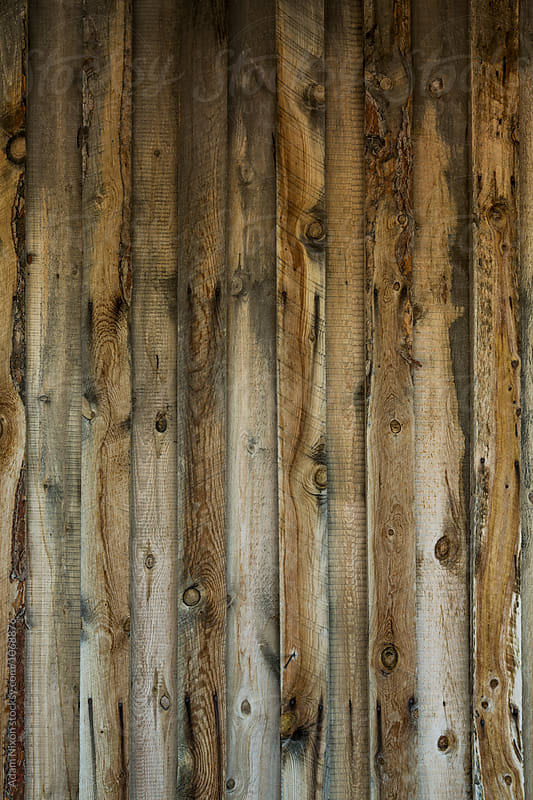 Weathered wood plank wall by Adam Nixon for Stocksy United