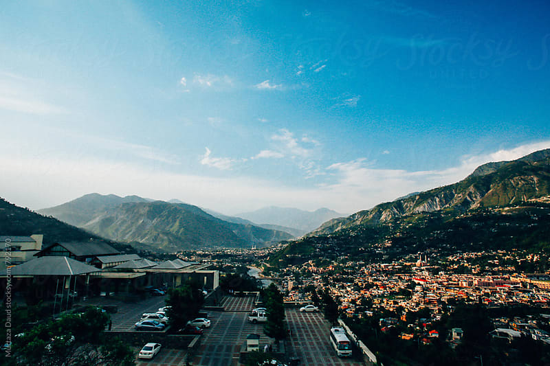 The Muzaffarabad Valley by Murtaza Daud for Stocksy United
