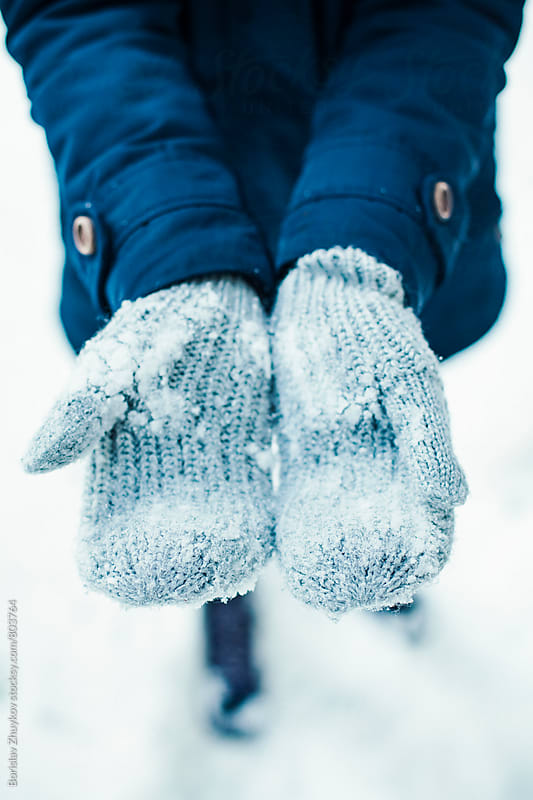 Winter gloves by Borislav Zhuykov for Stocksy United