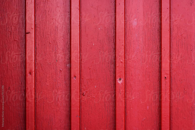 Red wooden background by Melanie Kintz for Stocksy United