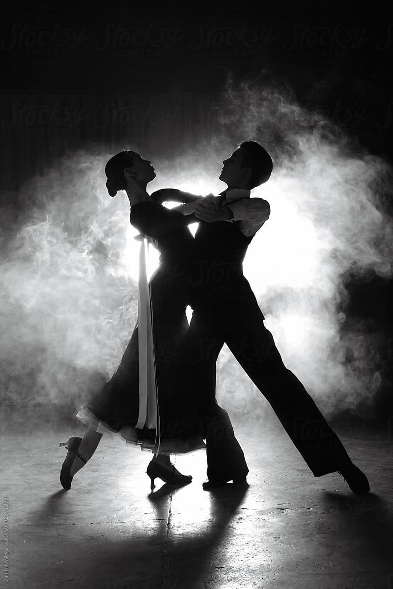 Couple Dancing In Smoke By Danil Nevsky Stocksy United