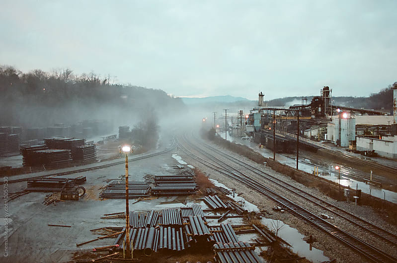 Industrial Wasteland by Foster Addington for Stocksy United