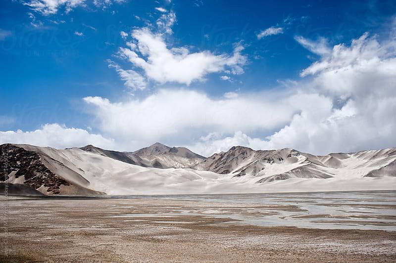 Landscape of a desert in Uzbekistan by Jean-Claude Manfredi for Stocksy United