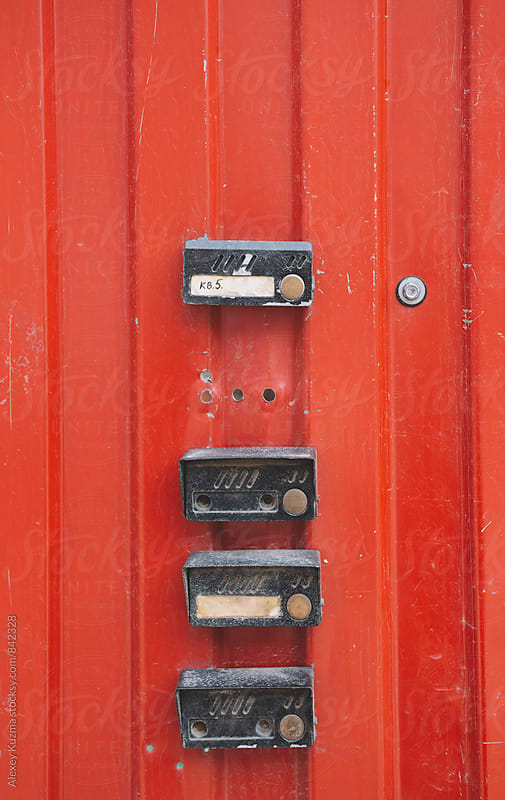 old doorbells by Alexey Kuzma for Stocksy United