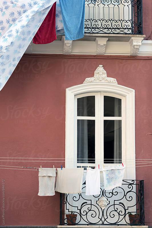A balcony in Italy by Luca Pierro for Stocksy United