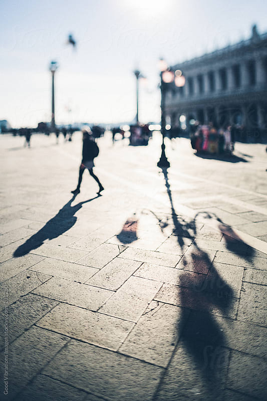 Walking in Venice by Good Vibrations Images for Stocksy United